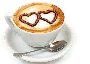 กาแฟใส่นม